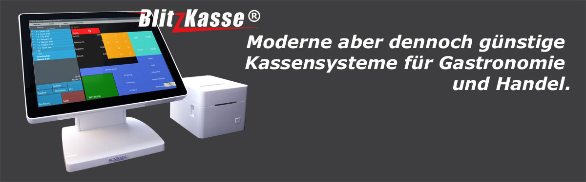 Moderne günstige Kassensysteme für Gastro